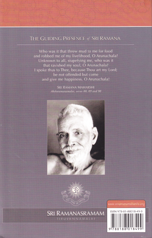 The Guiding Presence of Sri Ramana Backcover