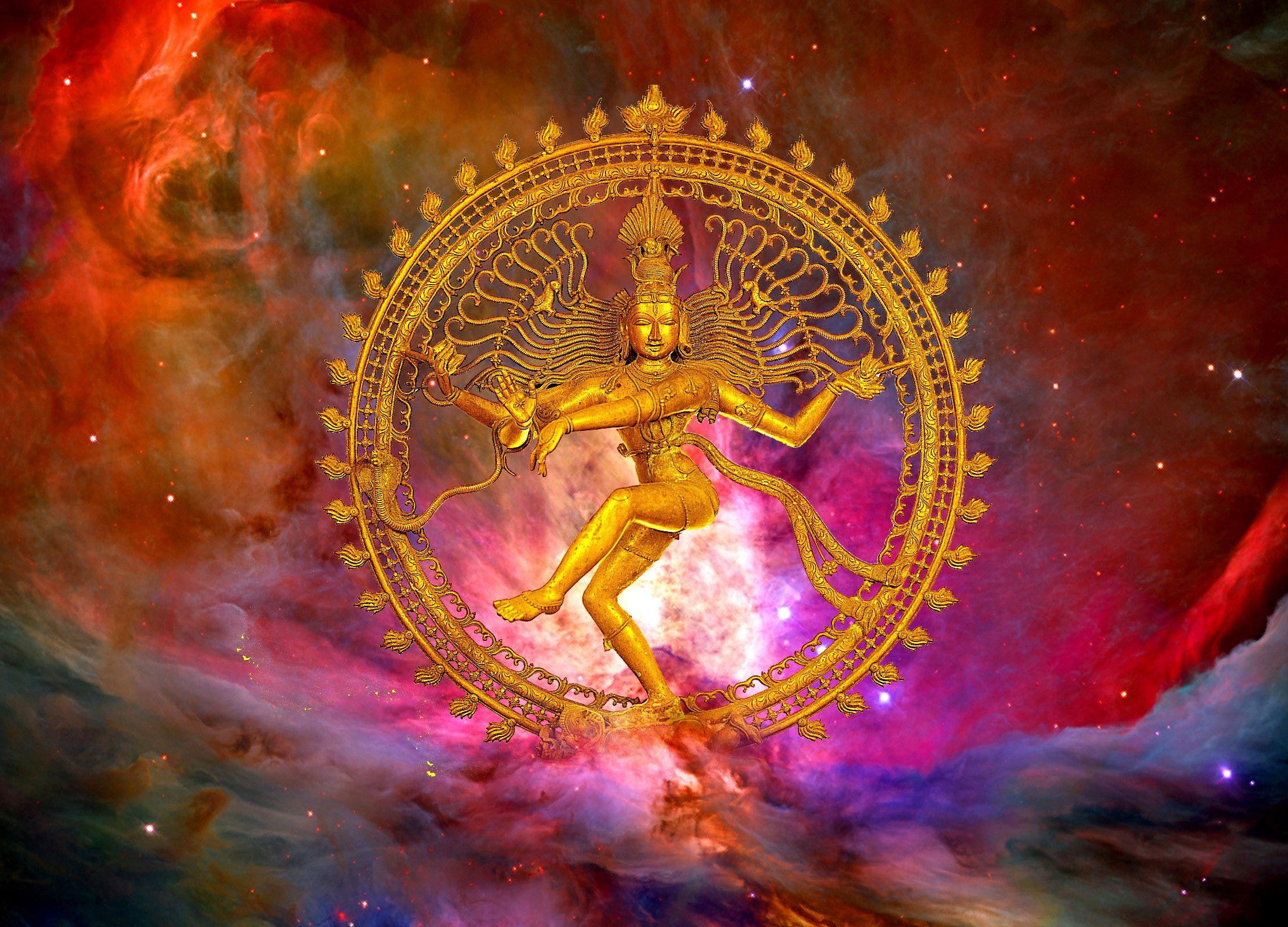 nataraja with orion nebula
