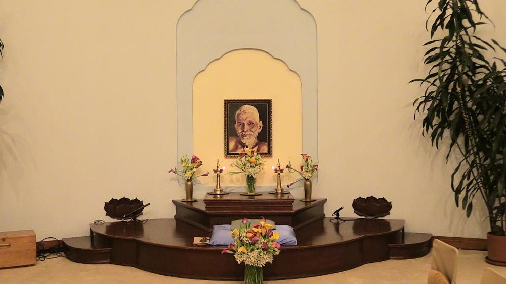 Bhagavan Sri Ramana Maharshi - Satsang Hall