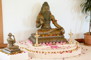 Sri Ribhu Rishinatha with Sri Nidagha