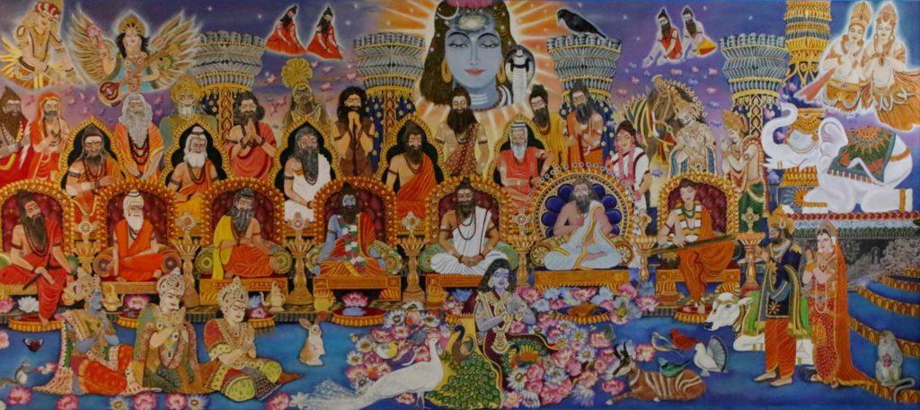 Lotus Room - Vasistha Mural