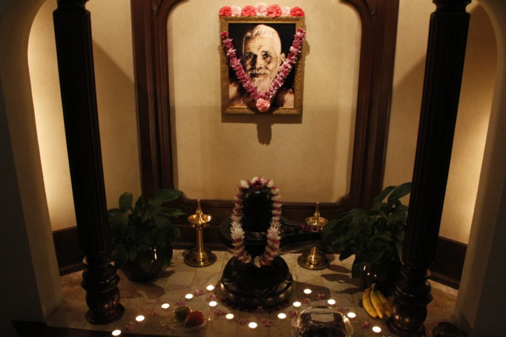 Sri Ramana Shrine Room